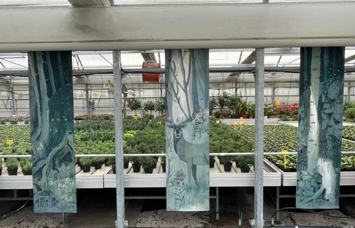 Mostra d'arte alla Floricoltura Roncador per il Garden Festival d'Autunno