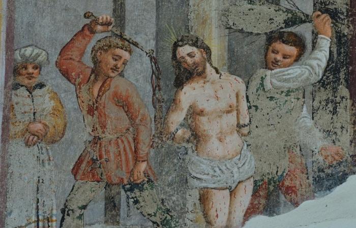 Affresco chiesa S. Agata Faedo